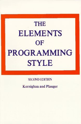 Обложка «The Elements of Programming Style»